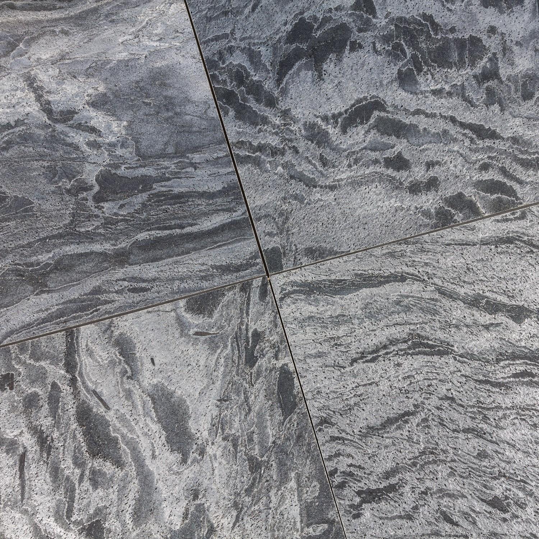 dalles carrelage quartzite gris platinium 60x60 indoor by capri. Black Bedroom Furniture Sets. Home Design Ideas