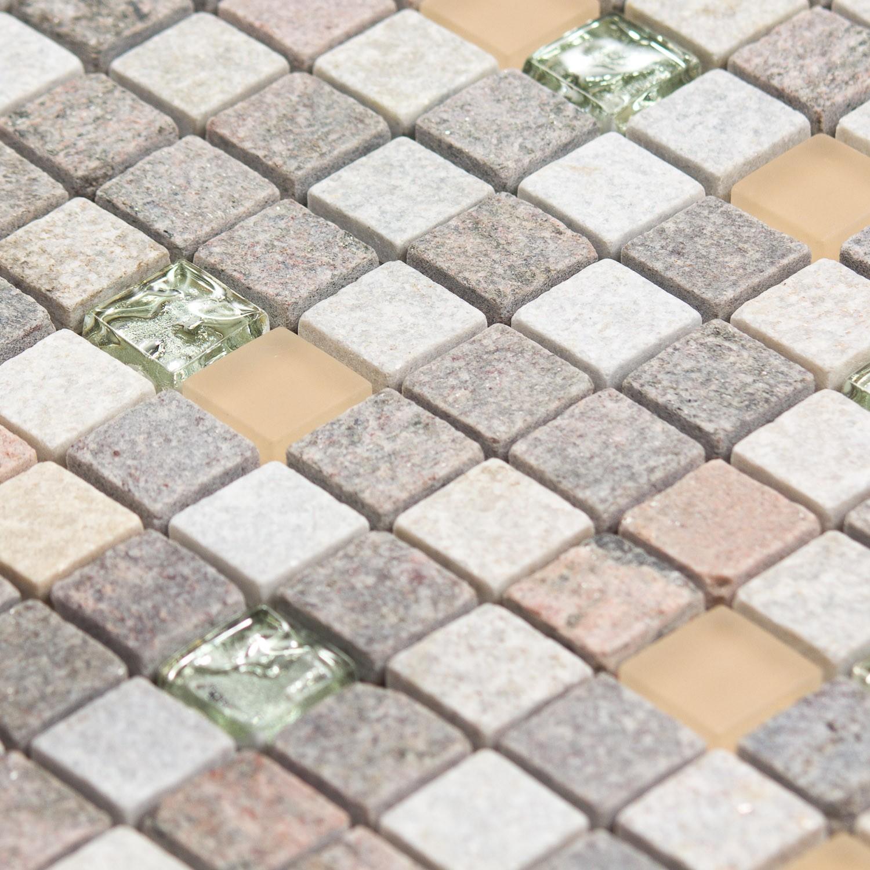 Salle De Bain Mosaique Rose ~ mosa que pierre et verre quartz rose et blanche indoor by capri