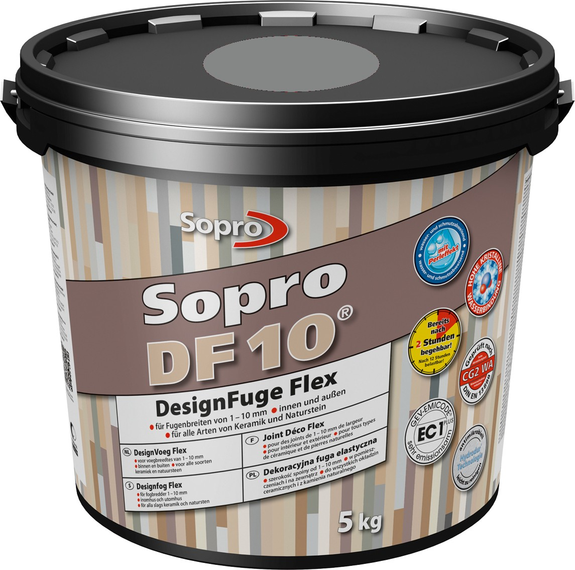 mortier joint sopro df10 gris 5 kg indoor by capri. Black Bedroom Furniture Sets. Home Design Ideas