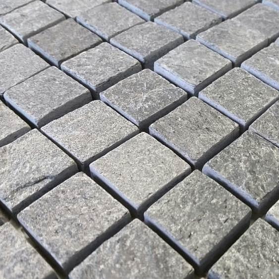 mosa que quartzite grise platinium indoor by capri. Black Bedroom Furniture Sets. Home Design Ideas