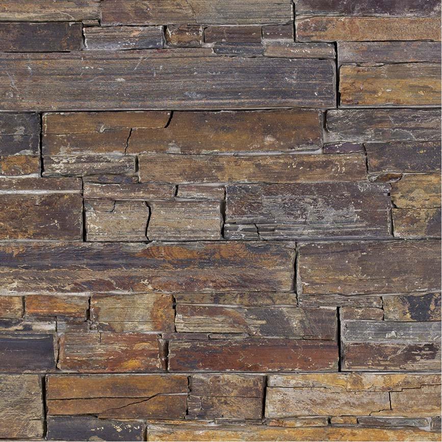 parement brun pierre naturelle verbania rustica indoor. Black Bedroom Furniture Sets. Home Design Ideas