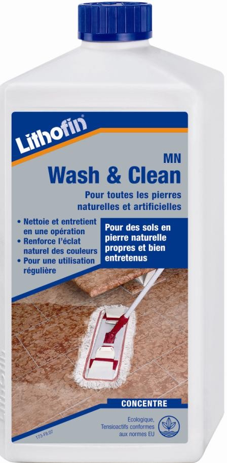 Nettoyant Lithofin Wash  Clean Pierre Naturelle   Litre  Indoor